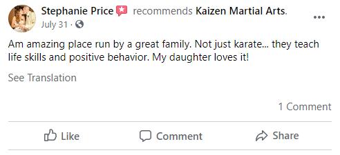11, Kaizen Martial Arts in Mount Laurel, NJ
