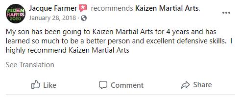 15, Kaizen Martial Arts in Mount Laurel, NJ