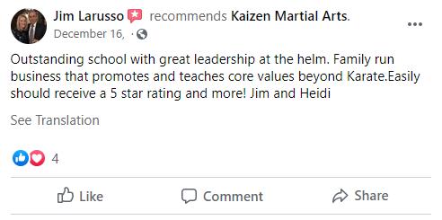 13, Kaizen Martial Arts in Mount Laurel, NJ