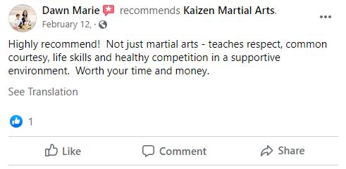 17, Kaizen Martial Arts in Mount Laurel, NJ