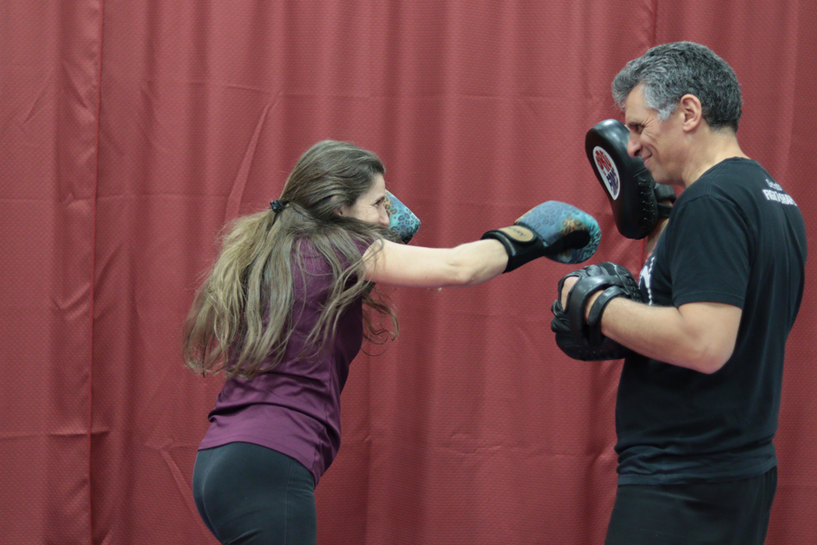 Punching, Kaizen Martial Arts in Mount Laurel, NJ