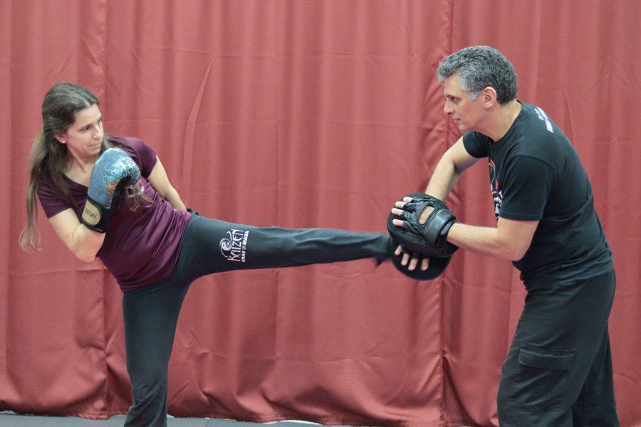 SelfDefense Kicking, Kaizen Martial Arts in Mount Laurel, NJ